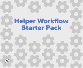 Helper Workflow Starter Pack shared by Leah Jennings